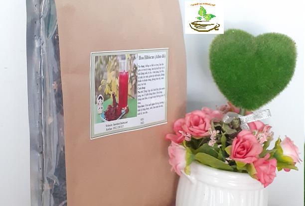 Tác dụng trà hoa atiso đỏ -hisbicus- bụp giấm