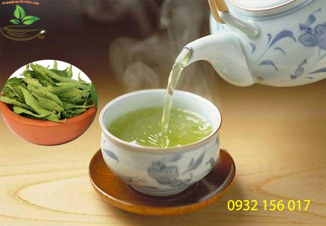 Cách sử dụng trà cỏ ngọt