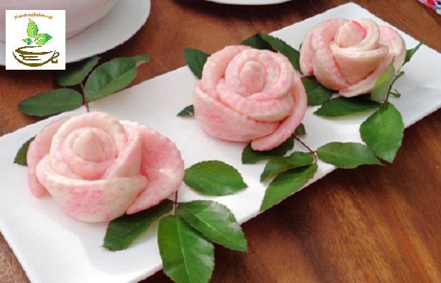 Cách sử dụng hoa hồng khô