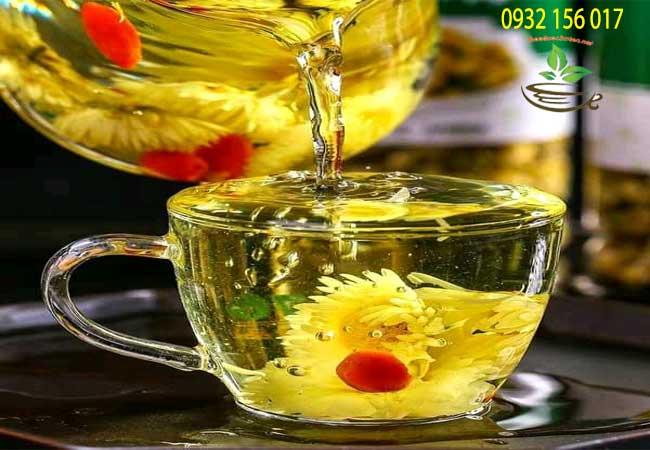Cách sử dụng trà hoa ngũ vị