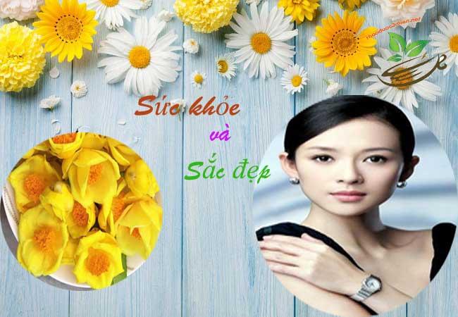 Tác dụng của trà hoa vàng