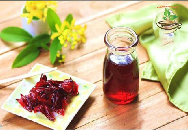 trà hoa atiso đỏ bụp giấm